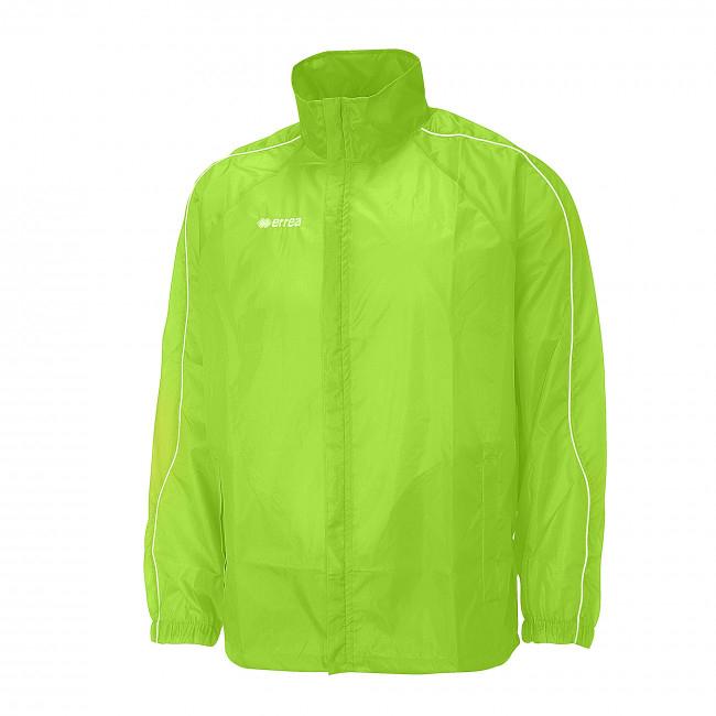 Errea-Basic-regenjas-fluo-groen