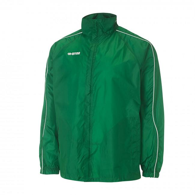 Errea-Basic-regenjas-groen