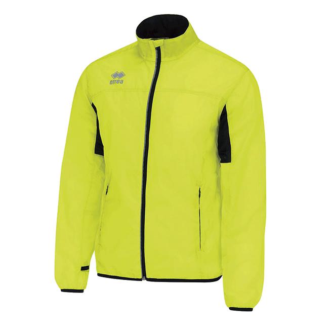 Dwyn running jacket fluo geel