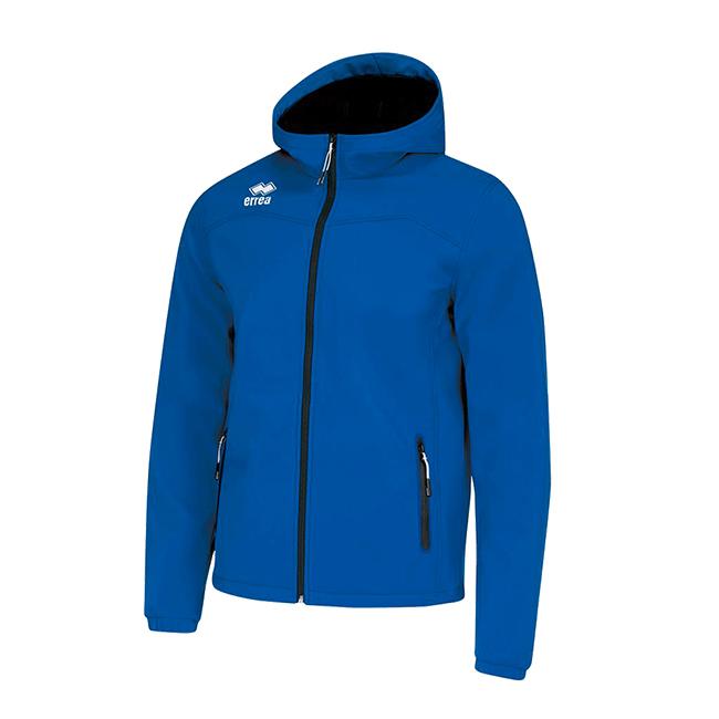 Geb jas softshell blauw