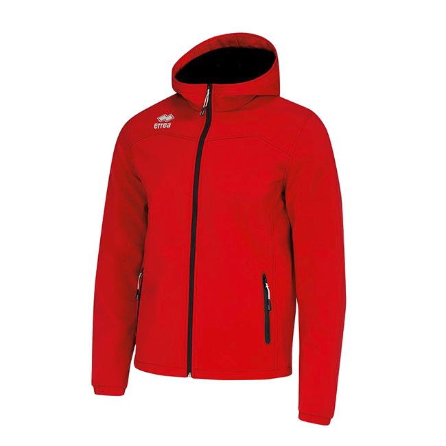 Geb jas softshell rood