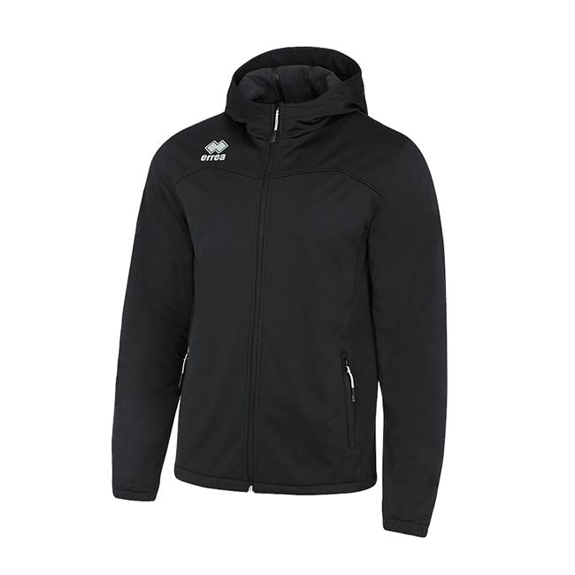 Geb jas softshell zwart